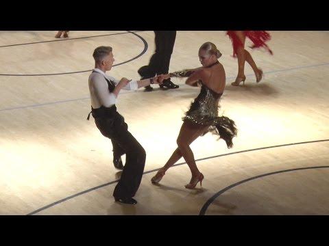 Helsinki Open 2014   WDSF WO Latin   Deividas Simaska - Uliana Maximkina   Jive