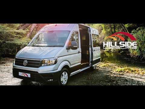 Volkswagen Crafter Campervan 2017, Hillside Leisure