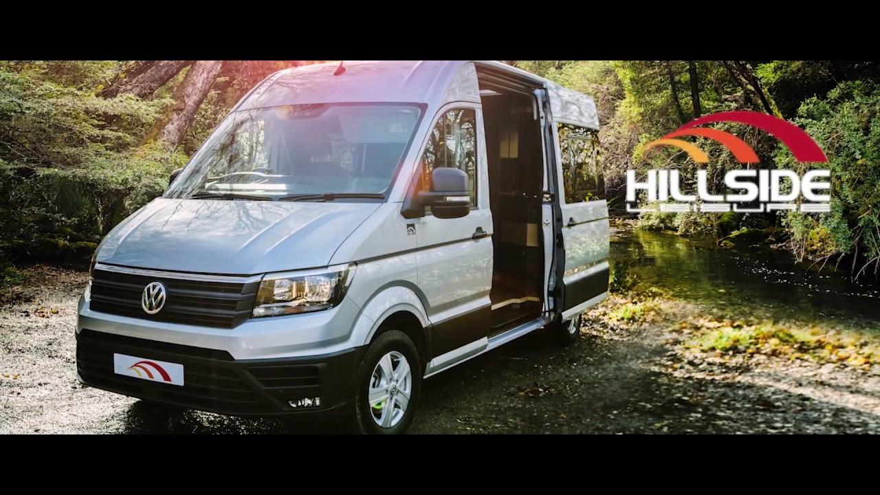 Volkswagen Crafter Campervan 2017 Hillside Leisure Youtube
