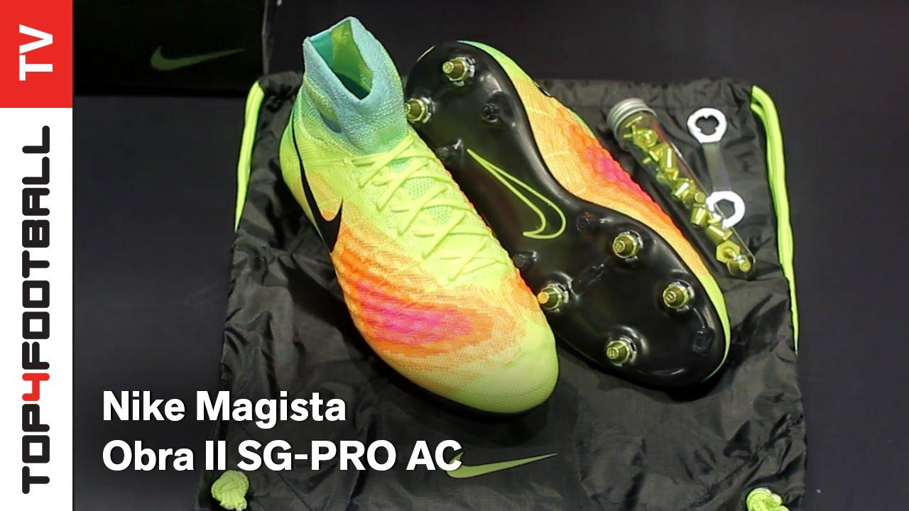 chaussures de sport 1df3d 9256f TOP4FOOTBALL UNBOXING - Nike Magista Obra II SG-PRO AC