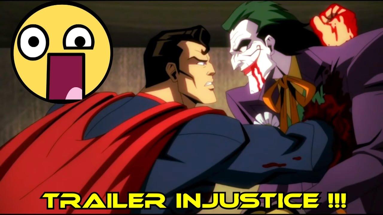 dios mio... INJUSTICE Movie TRAILER !!!! - alejozaaap