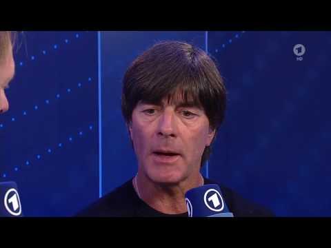 Joachim Löw & Lukas Podolski post-match interview – Deutschland v England 22/03/17