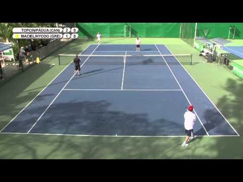 canadá-x-grécia---copa-das-confederações-de-tênis---final-de-duplas---jogo-1-(1°-set)