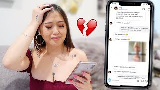 CATFISHING MY BOYFRIEND TO SEE IF HE CHEATS! *HE DOES*