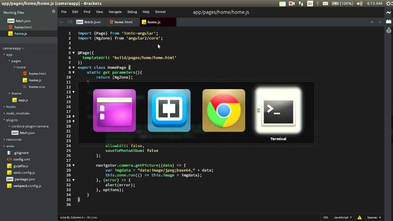Using cordova-camera plugin in your Ionic 2 Apps   T-Pub :)