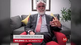 Injusto que AMLO salga con que el pueblo lo cuida: Fernández de Cevallos