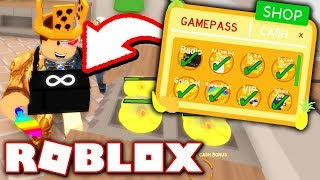 BUYING EVERY GAMEPASS IN COOKING SIMULATOR!! *RAINBOW SET!* (Roblox)