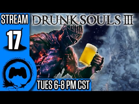 DRUNK SOULS III Part 17 - Ashes of Ariandel - TFS Gaming