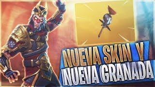 NEW SKIN AND NEW GRANADA! FORTNITE