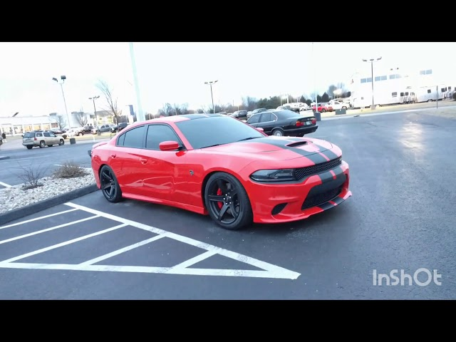 Dodge Charger Hellcat Tinted Windshield 35% and Limo tint all around --walk around