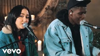 noah cyrus make me cry acoustic performance ft labrinth