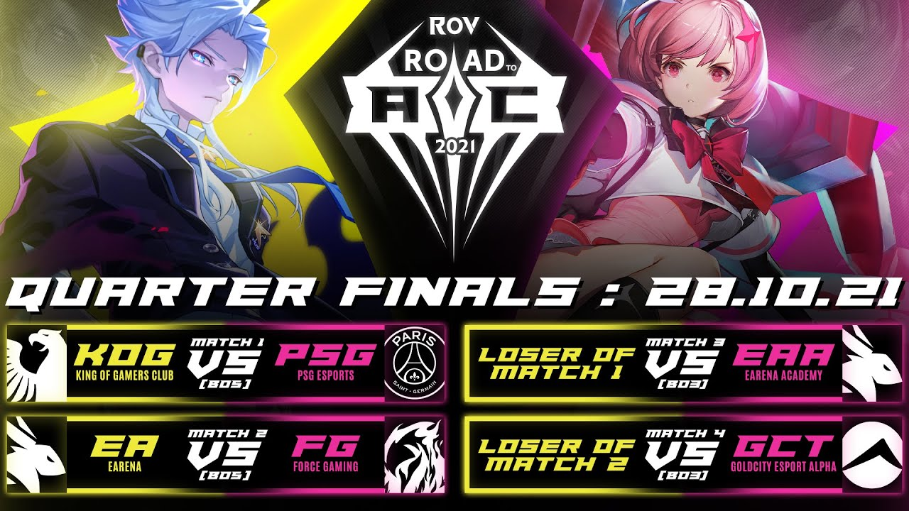 Road to AIC 2021  Quarter Finals Day 1
