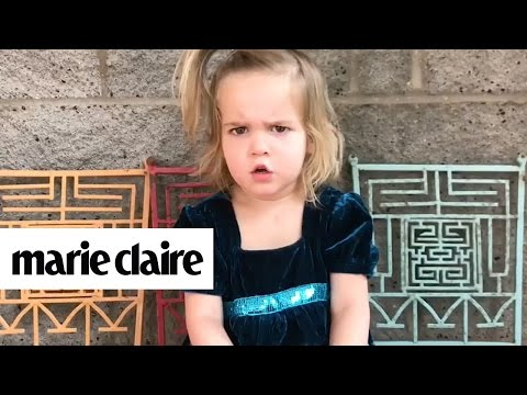This Little Girl's Argument With Her Boyfriend on Toy Phone is Absolutely Adorable | Marie Claire