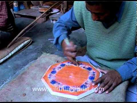 Marble art, Agra