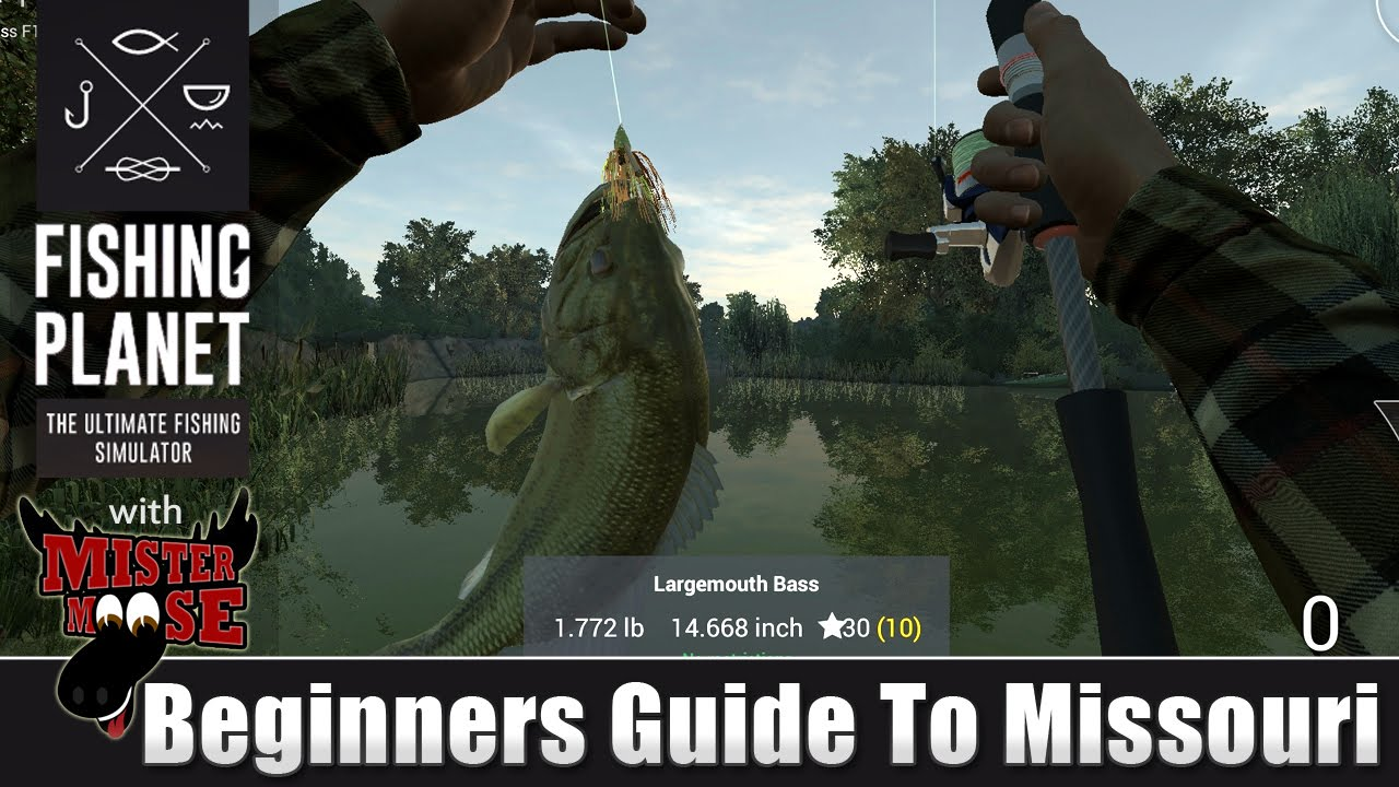 Fishing planet beginners guide to missouri youtube for Beginners guide to fishing