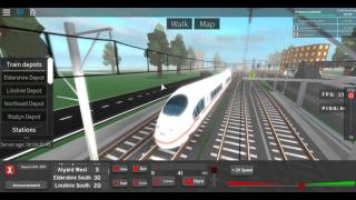 ROBLOX Terminal Railways The ICE 3 Country: Germany