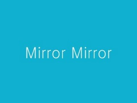 Mirror Mirror by Jeff Williams with Lyrics