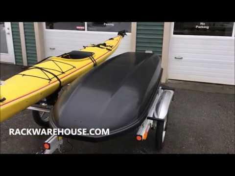 yakima rackandroll kayak trailers 8008107 8008106 installation video