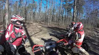 Dirt Bike riding Mt. Magazine …