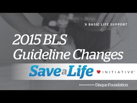 1b. 2015  BLS Guideline Changes, Basic Life Support (BLS) (2018)