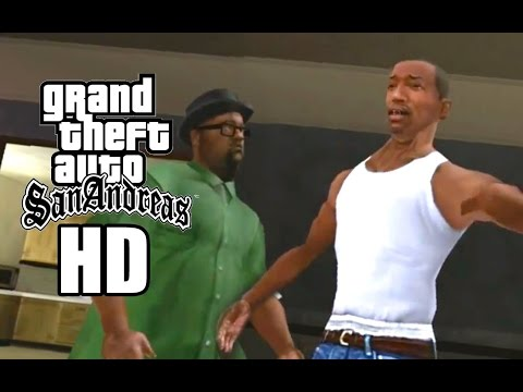 Grand Theft Auto: San Andreas Remastered Version HD Textures. PC Review
