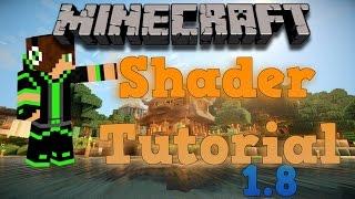 Minecraft Shader Tutorial (RudoPlays) 1.8 [German/HD]