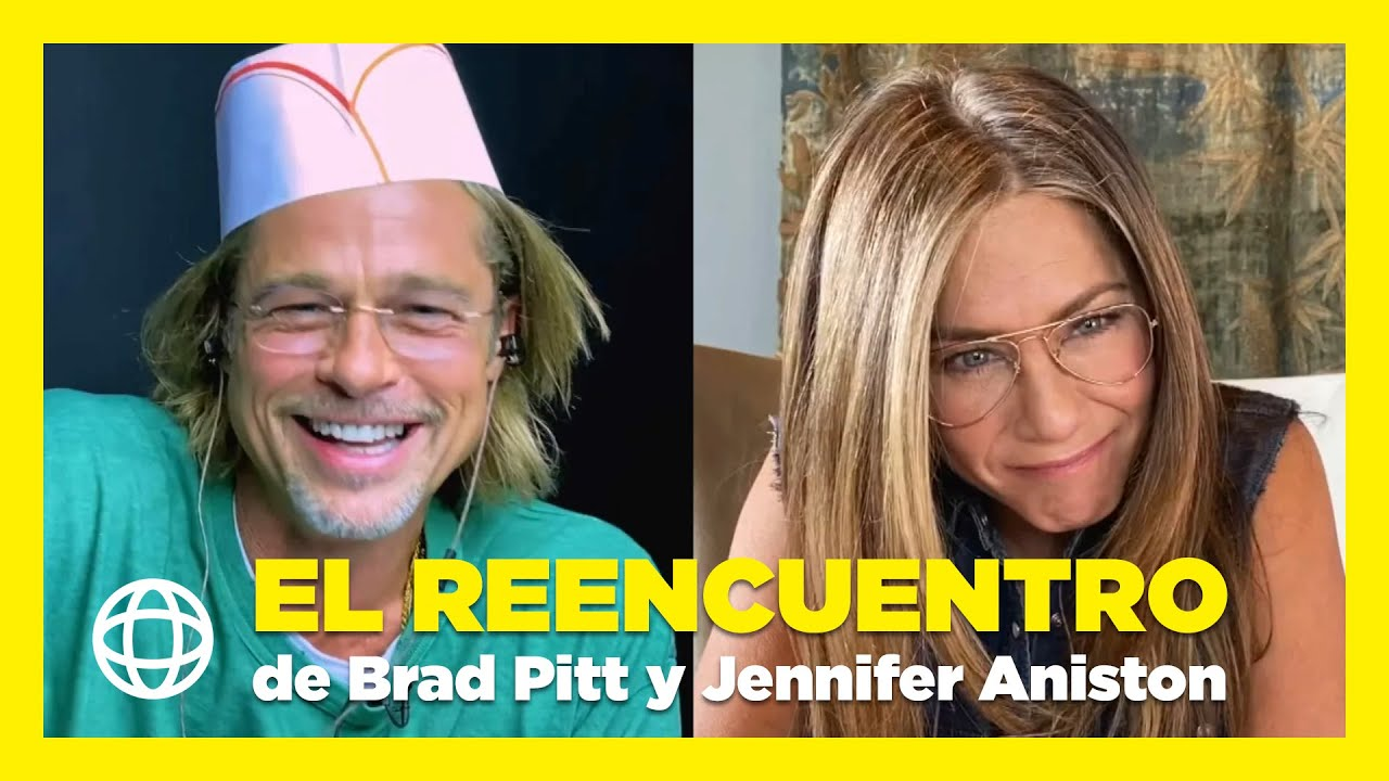 El reencuentro de Brad Pitt y Jennifer Aniston que revoluciona la Red 😱😍✨