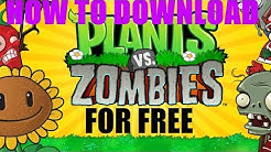 Plants Vs Zombies GOTY Download Full Version For Free PC