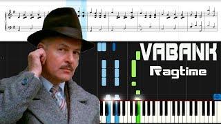 VABANK. Ragtime. Piano tutorial. Музыка из кино Ва Банк. Пианино.