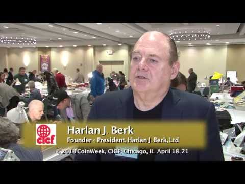 Harlan Berk Talks About Pricing for the Ancient Coin Market. VIDEO: 1:57.