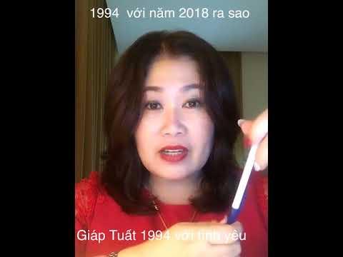 Giáp Tuất 1994 - Sơn Đầu Hỏa - Tình yêu & vận hạn 2018 | Tử Vi Và Tướng Số