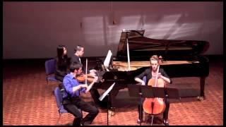 Brahms Piano Trio in B Major, Op. 8 - III. Adagio