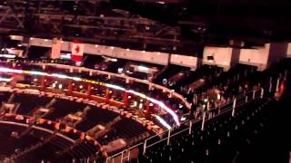 Inside the Staples Center! part 2