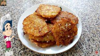 Вкусные драники из кабачков и картофеля