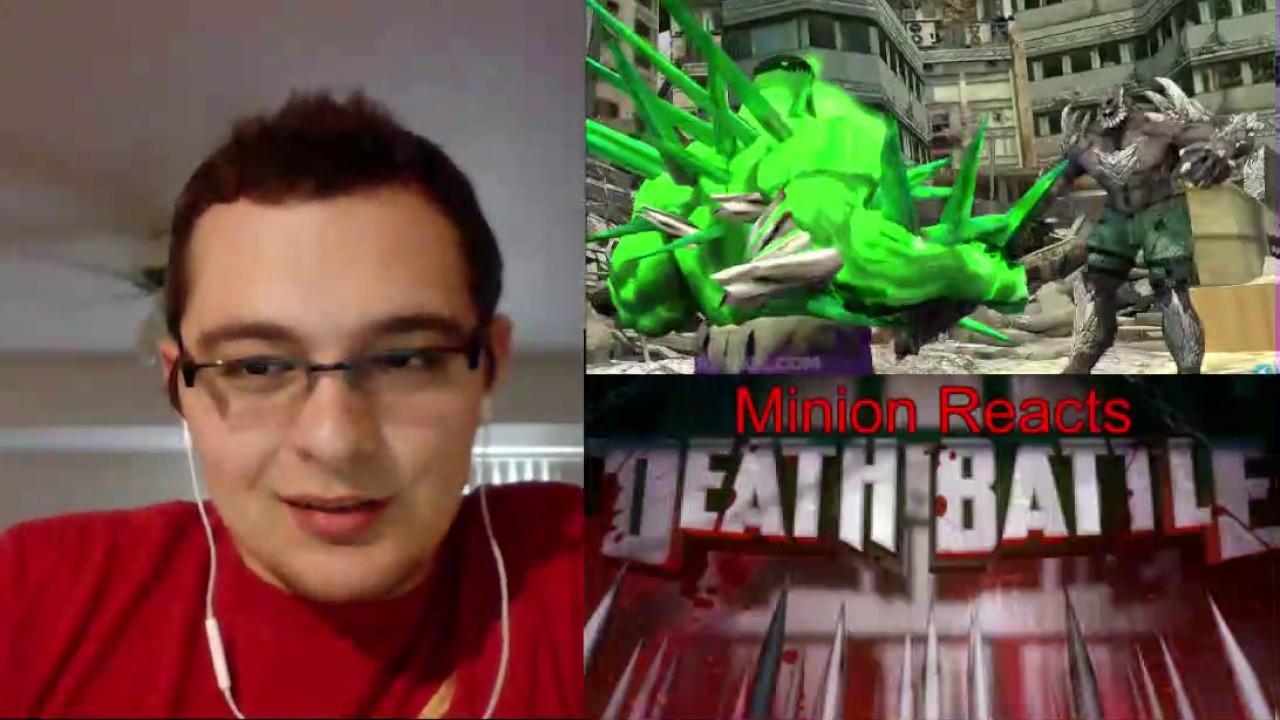 Death Battle: Hulk vs Doomsday Reaction/Thoughts - Minion ... Doomsday Vs Hulk Death Battle Reaction
