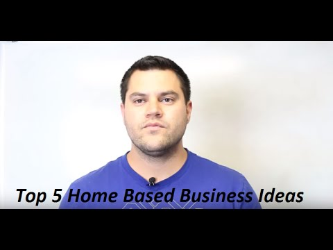 Home Based Business Ideas For Seniors - My Top 5 Ways To Make Money From Home