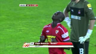 La Liga | Gol de Babá (0-3) en el RCD Espanyol - Sevilla FC | 28-11-2012 | J5