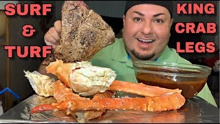 ALASKAN King Crab Legs SURF & TURF
