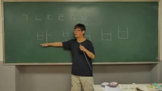 корейская азбука (한글) Согласные (자음)