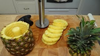 How to Core a Pineapple Easily