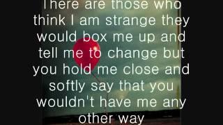 anchor by mindy gledhill lyrics