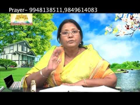 GOD HEALS    Sis. LATA LINCOLN    Telugu Sermon