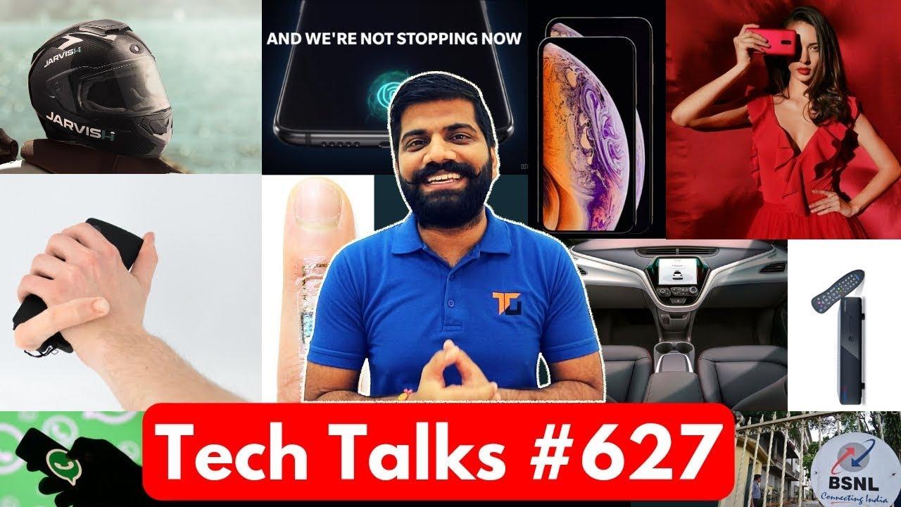 Tech Talks #627 - Xiaomi LEX, Mini Pixel, BSNL 99Rs Broadband, Jarvish Helmet, Phone Xs Sales