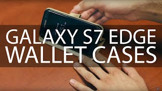 samsung galaxy s7 edge wallet case overview