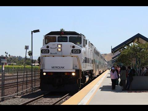 Riding the Metrolink Riverside Line (Metrolink 411) 4/14/17