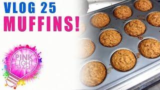 Vlog 25 - Carrot Oatmeal Muffins!