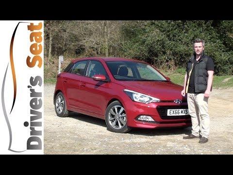 Hyundai i20 2017 Review   Driver's Seat
