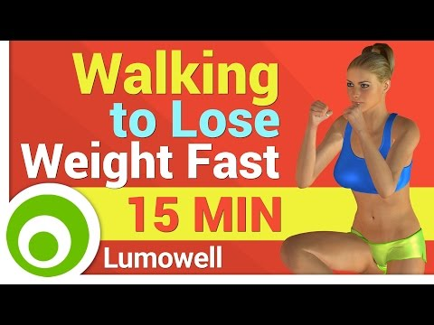 Walking Exercise to Lose Weight Fast at Home – 1 Mile