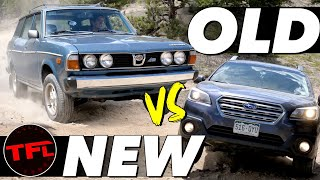 Old vs New - How Much Better (Or Worse) Is a Subaru Outback Off-Road Than Its Great-Grandfather?