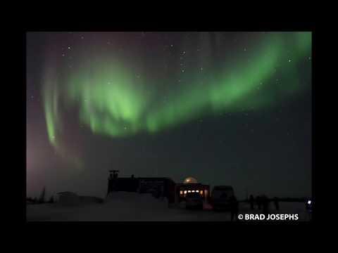 Northern Lights Time-lapse Churchill, Manitoba